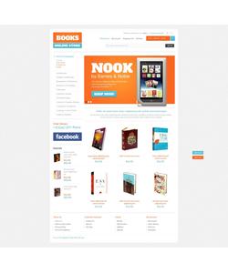OpenCart e-shop šablona na téma Knihy č. 40517