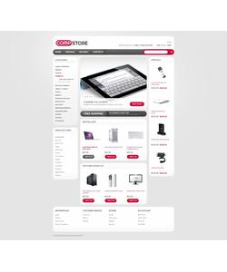 OpenCart e-shop šablona na téma Počítače č. 40839