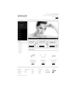 OpenCart e-shop šablona na téma Šperky č. 41029