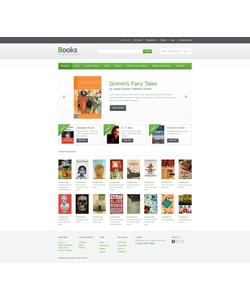 OpenCart e-shop šablona na téma Knihy č. 41340