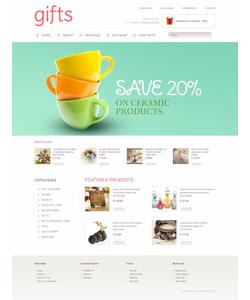 OpenCart e-shop šablona na téma Dárky č. 41470