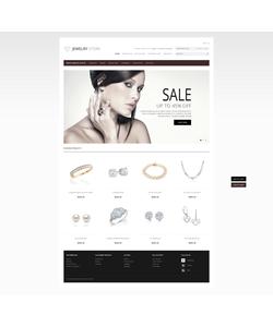 OpenCart e-shop šablona na téma Šperky č. 41475