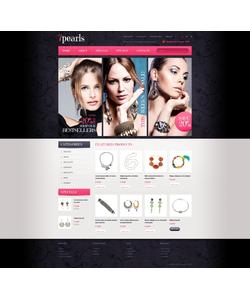 OpenCart e-shop šablona na téma Šperky č. 41889