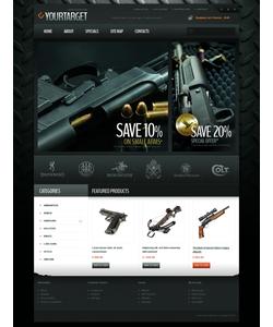 OpenCart e-shop šablona na téma Vojenské č. 42362