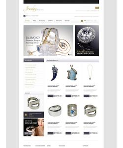 OpenCart e-shop šablona na téma Šperky č. 42363