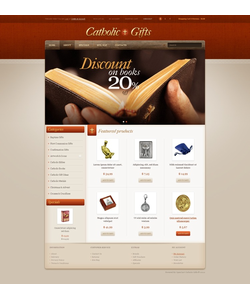 OpenCart e-shop šablona na téma Náboženství č. 42656