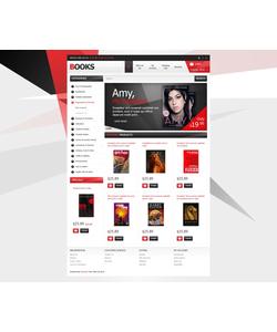 OpenCart e-shop šablona na téma Knihy č. 42998