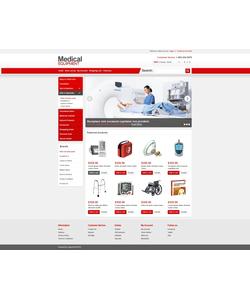OpenCart e-shop šablona na téma Lékařské č. 43488