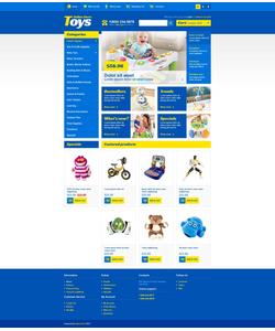 OpenCart e-shop šablona na téma Zábava č. 44022