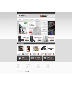 OpenCart e-shop šablona na téma Hry č. 44765