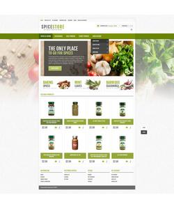 OpenCart e-shop šablona na téma Jídlo a pití č. 44767