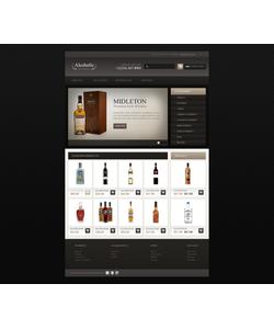 OpenCart e-shop šablona na téma Jídlo a pití č. 44893