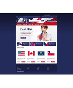 OpenCart e-shop šablona na téma Politika č. 45095