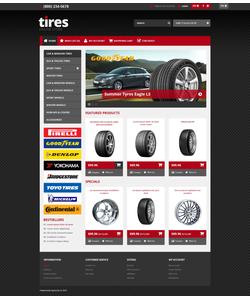 OpenCart e-shop šablona na téma Auta č. 45525