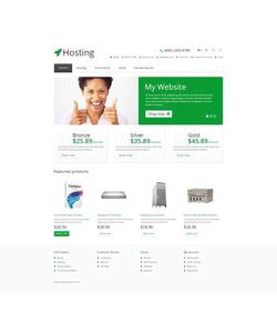 OpenCart e-shop šablona na téma Hosting č. 45557