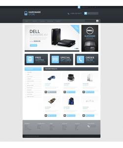OpenCart e-shop šablona na téma Počítače č. 45747