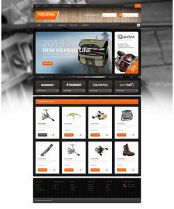OpenCart e-shop šablona na téma Sport č. 45943