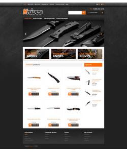 OpenCart e-shop šablona na téma Vojenské č. 45944