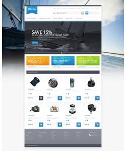 OpenCart e-shop šablona na téma Sport č. 46249