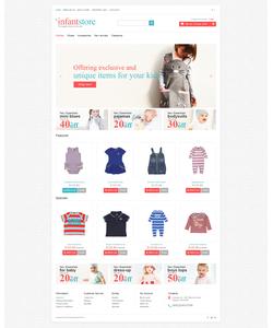 OpenCart e-shop šablona na téma Rodina č. 47064