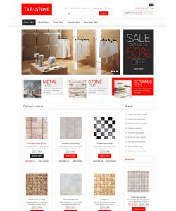 OpenCart e-shop šablona na téma Interiér a nábytek č. 47279