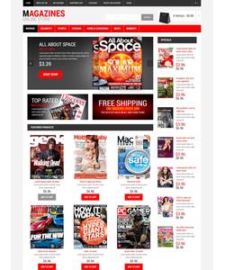 OpenCart e-shop šablona na téma Média č. 47446