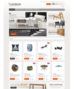 OpenCart e-shop šablona na téma Interiér a nábytek č. 47448
