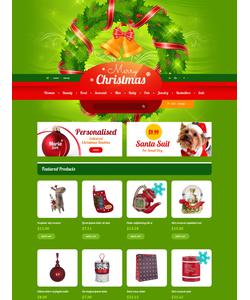 PrestaShop e-shop šablona na téma Vánoce č. 47550