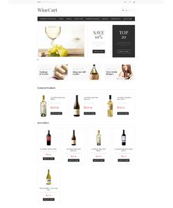 PrestaShop e-shop šablona na téma Jídlo a pití č. 47553