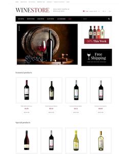 OpenCart e-shop šablona na téma Jídlo a pití č. 47558