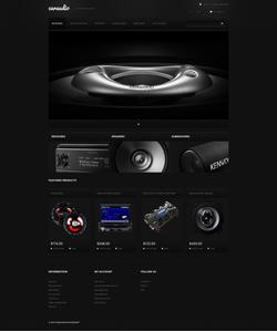 PrestaShop e-shop šablona na téma Auta č. 47690