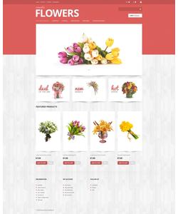 PrestaShop e-shop šablona na téma Květiny č. 47887