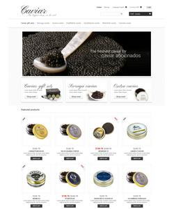 PrestaShop e-shop šablona na téma Jídlo a pití č. 47944