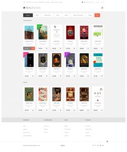 OpenCart e-shop šablona na téma Knihy č. 47983