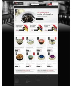 PrestaShop e-shop šablona na téma Jídlo a pití č. 48037