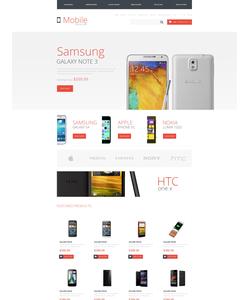 OpenCart e-shop šablona na téma Elektronika č. 48041