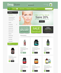 OpenCart e-shop šablona na téma Lékařské č. 48042