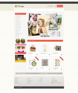 PrestaShop e-shop šablona na téma Dárky č. 48088