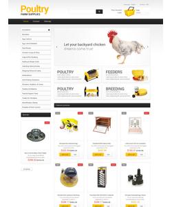 PrestaShop e-shop šablona na téma Zemědělství č. 48186