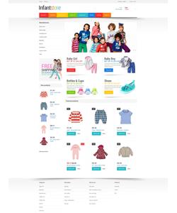 PrestaShop e-shop šablona na téma Rodina č. 48237