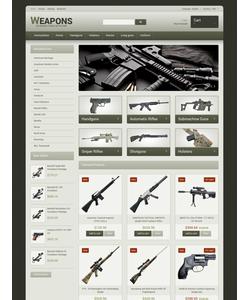 PrestaShop e-shop šablona na téma Vojenské č. 48317