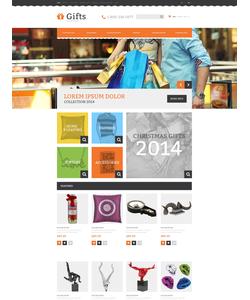 OpenCart e-shop šablona na téma Dárky č. 48576