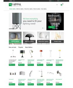 PrestaShop e-shop šablona na téma Interiér a nábytek č. 48659