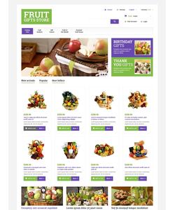 PrestaShop e-shop šablona na téma Dárky č. 48661