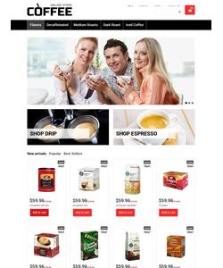 PrestaShop e-shop šablona na téma Café a restaurace č. 48663