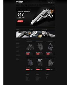 PrestaShop e-shop šablona na téma Vojenské č. 48703