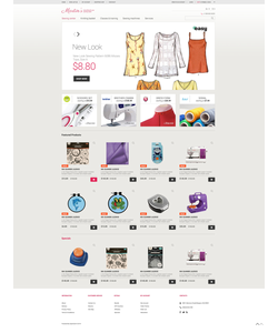 OpenCart e-shop šablona na téma Hobby č. 48754