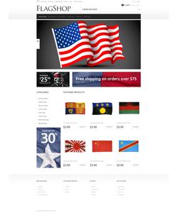 OpenCart e-shop šablona na téma Politika č. 48757