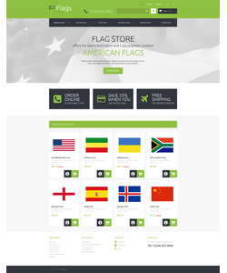 PrestaShop e-shop šablona na téma Politika č. 48776