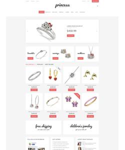 PrestaShop e-shop šablona na téma Šperky č. 48881